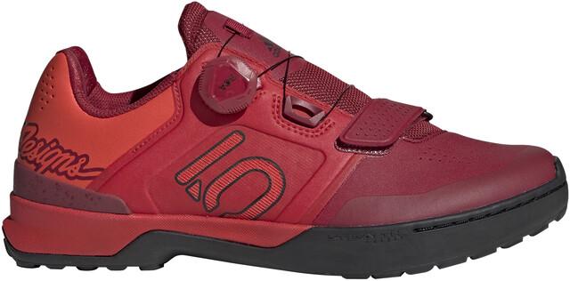 adidas Five Ten Kestrel Pro Boa TLD Mountain Bike Shoes Men strong redcore blackhi res red